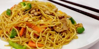 Siu Mie, Makanan yang Wajib Hadir saat malam Tahun Baru Imlek