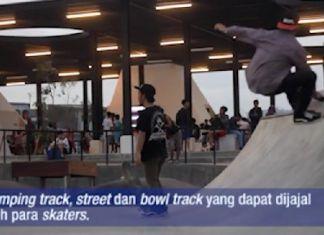 Skatepark Kalijodo Surganya para Skaters