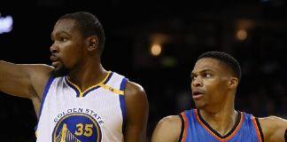 NBA All Star 2017 Satukan Kembali Duet Durant-Westbrook