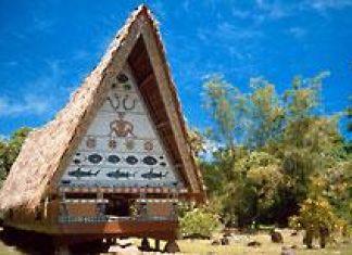 Rumah Adat Palau di Samudera Pasifik Mirip Rumah Batak