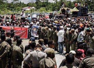 PHK Massal Freeport Pengaruhi Situasi Kamtibmas di Mimika