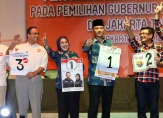 Di Jakarta Barat, Suara Ahok-Djarot Unggul