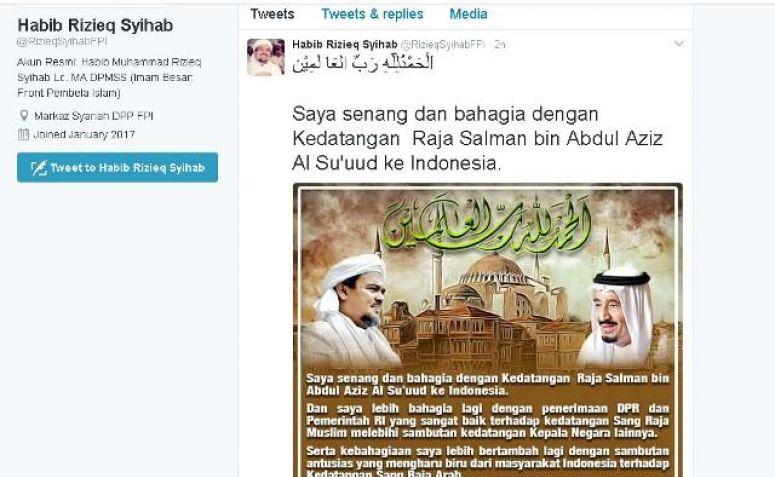 Habib Rizieq Bahagia, Walau Tak Diundang Berdialog dengan ...