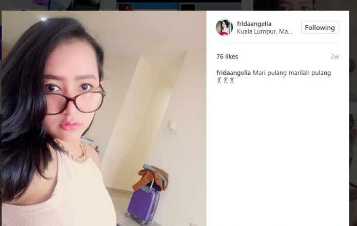 Frida Angella The Singer Of Viral Youtube Music Video In Indonesia