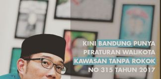 Berada di Bandung, Jangan Sembarang ''Bikin Asap'