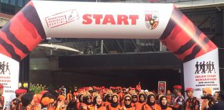 Srikandi Pemuda Pancasila Gelar Jalan Sehat Bersahabat