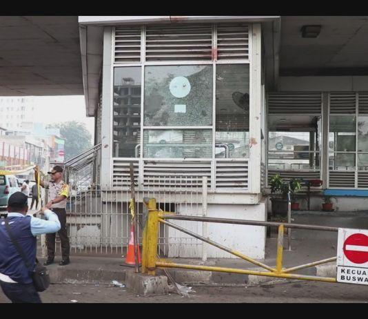 Pengamanan di Sekitar Lokasi Ledakan Bom Kampung Melayu