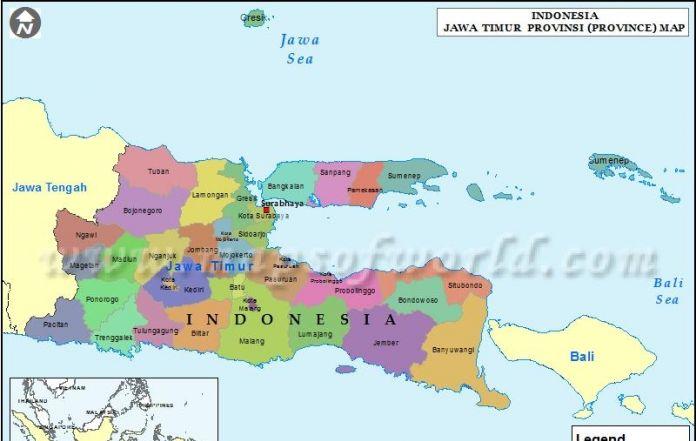 Pdip Carry Risma Gus Ipul Abdullah Anas East Java Gov