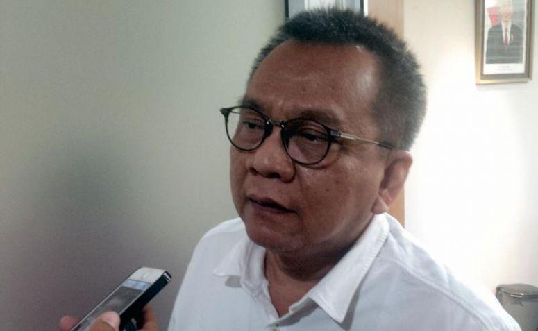 Ketua DPD Partai Gerindra DKI Jakarta M Taufik. (Netralnews/Adiel Manafe)