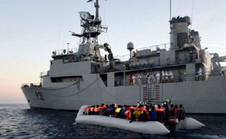 Kapal AL Irlandia Selamatkan 712 Pengungsi di Lepas Pantai Libya