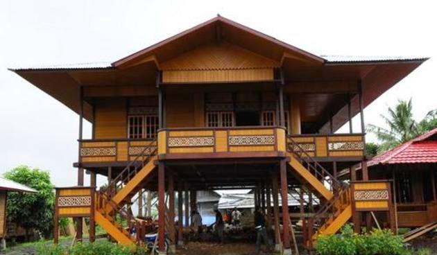 Gaya Unik Rumah Adat Khas Gorontalo