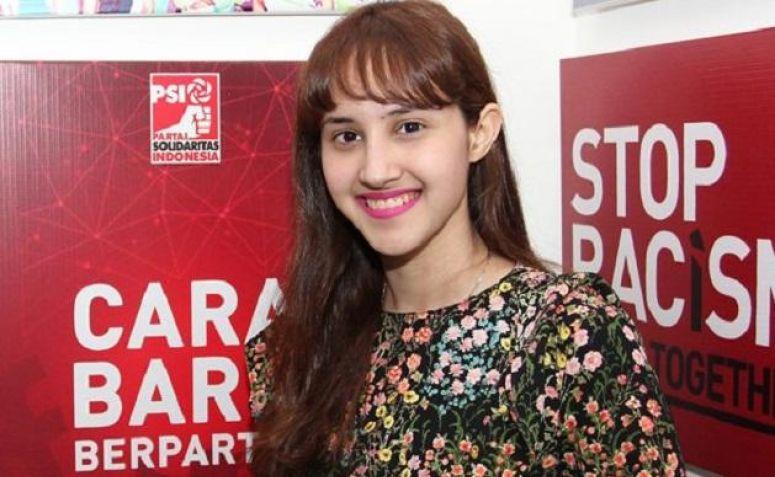 Politisi muda dari Partai Solidaritas Indonesia (PSI), Tsamara Amany.