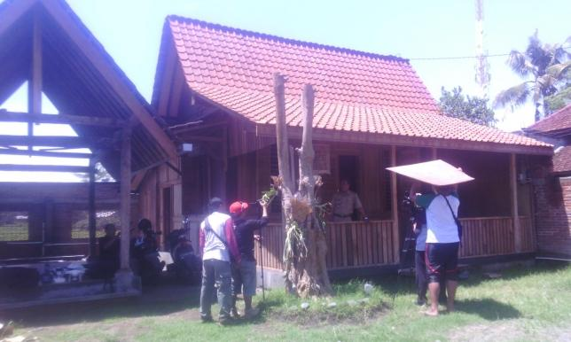 Rumah Adat Osing Banyuwangi Jawa Timur
