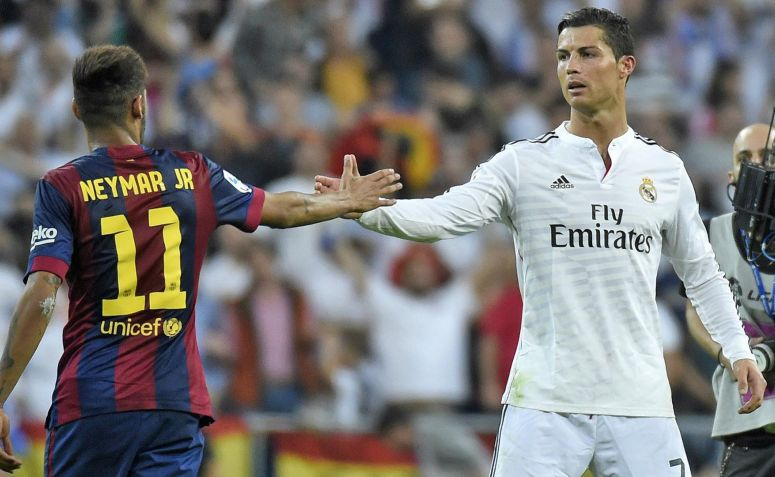 Bisikan Ronaldo untuk Bintang Barcelona