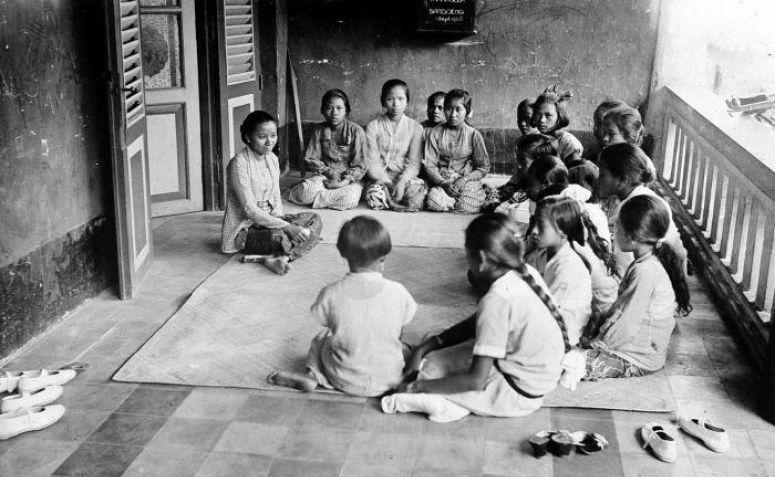 Wajah Pendidikan Indonesia dulu