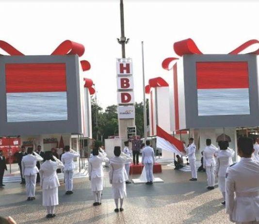 Keseruan Perayaan HUT Ke-72 RI di HBDI Festival