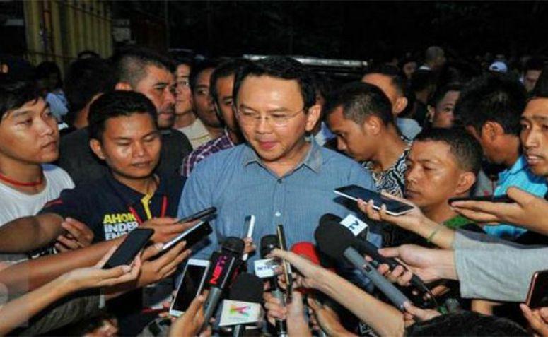 Mantan Gubernur DKI Jakarta Basuki Tjahaja Purnama atau Ahok