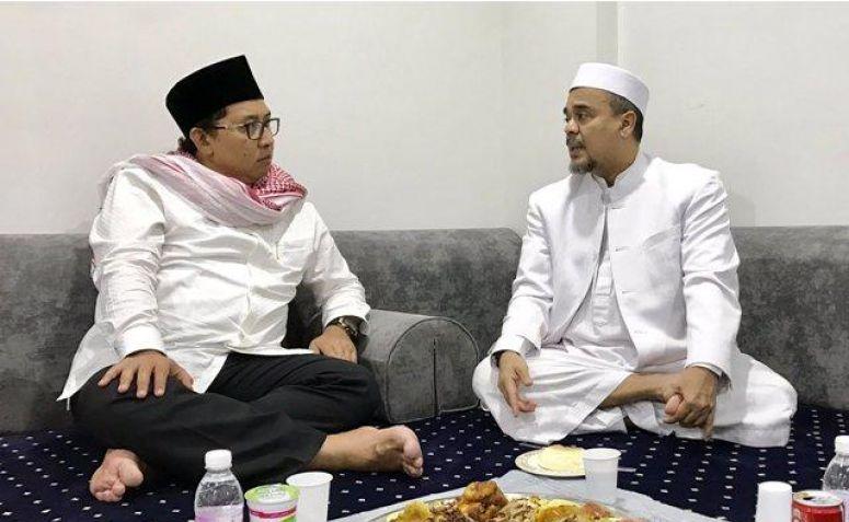 Fadli Zon dan Habib Rizieq Nikmati Nasi Kebuli di Mekah