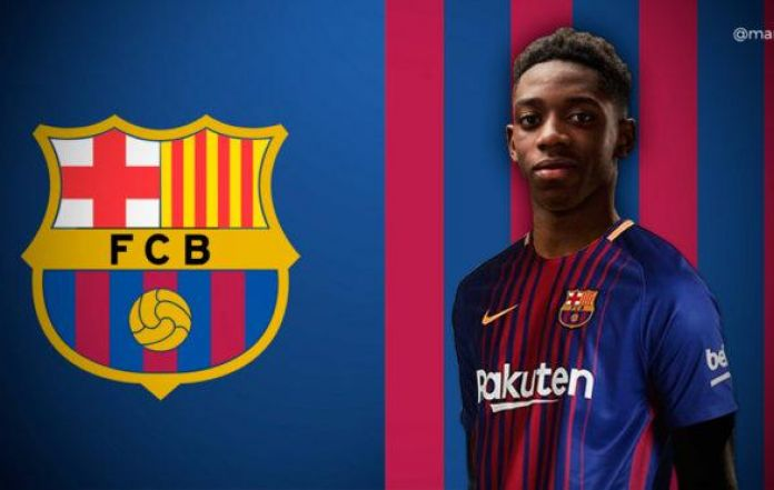 new product a5dbc 1ecf0 Ousmane Dembele Set to Join Barcelona