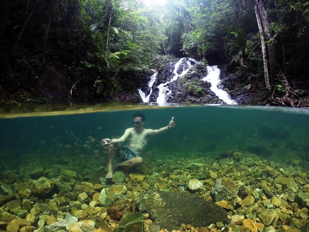 Air Terjun Gurok Beraye Destinasi Wisata Belitung Selain Pa