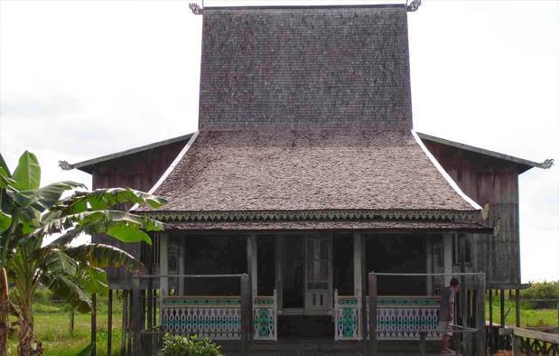 Mengenal Rumah Adat Suku Banjar, Kalimantan Selatan