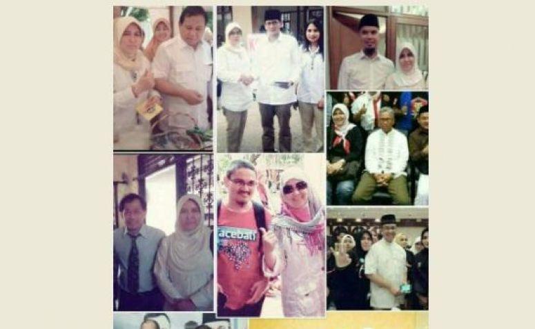 Image result for Asma Dewi Dengan Sandiaga Uno