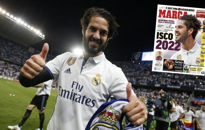 Isco pens four-year Real Madrid contract extension