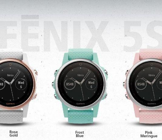 Berikan Banyak Pilihan, Garmin Fenix 5S Rilis Tiga Warna Baru