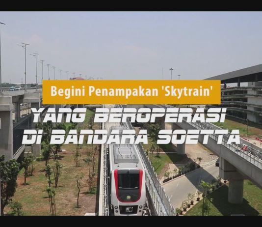 Begini Penampakan 'Skytrain' yang Beroperasi di Bandara Soetta