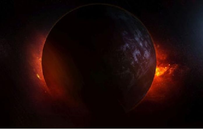 Nasa discovered a dark light absorbing planet for Plante 94 pourcent
