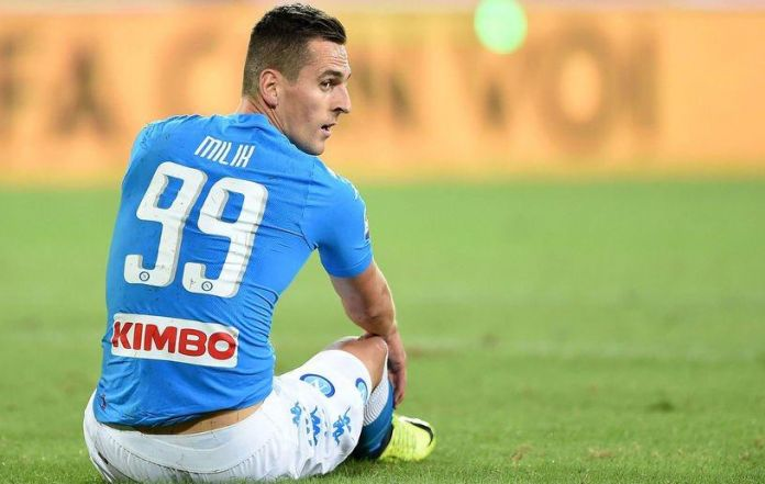 Napoli, Milik surgery confirmed for tomorrow morning