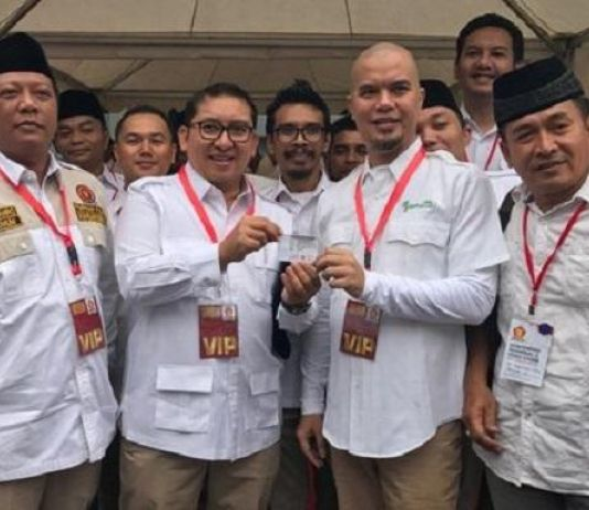 Ahmad Dhani Jadi Kader Gerindra, Fadli Zon Ucapkan Selamat