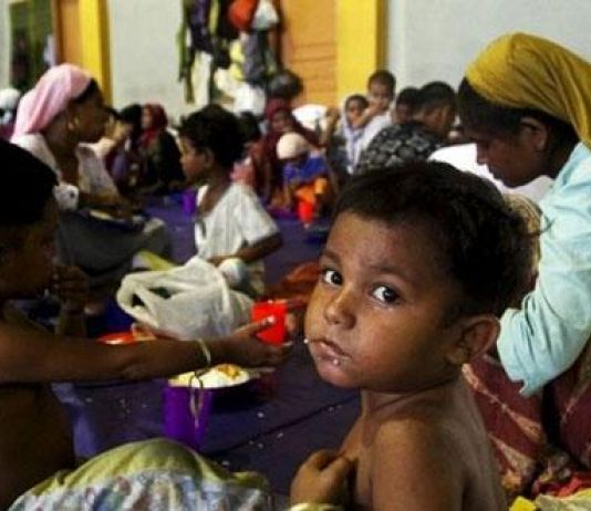 Pengungsi Anak-Anak Rohingya Terancam Penyakit