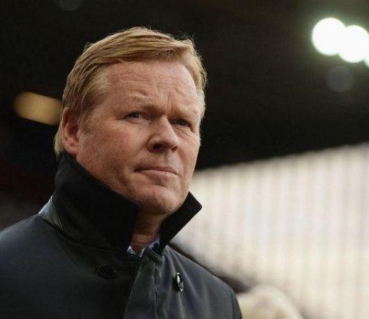 Resmi, Everton Depak Ronald Koeman