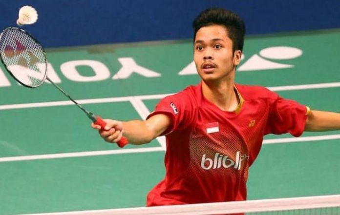 Anthony Ginting Faces India with Caution