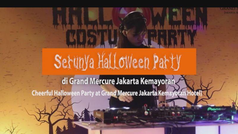 Serunya Halloween Party di Grand Mercure Jakarta Kemayoran