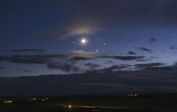 Incredible new images show Jupiter and Venus side by side