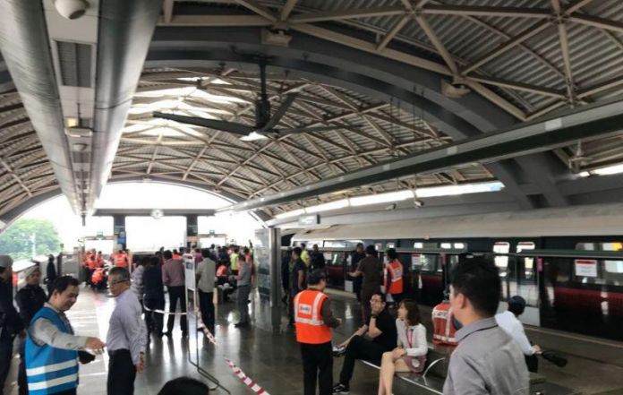 Singapore train collides with stationary train leaving 23 injured