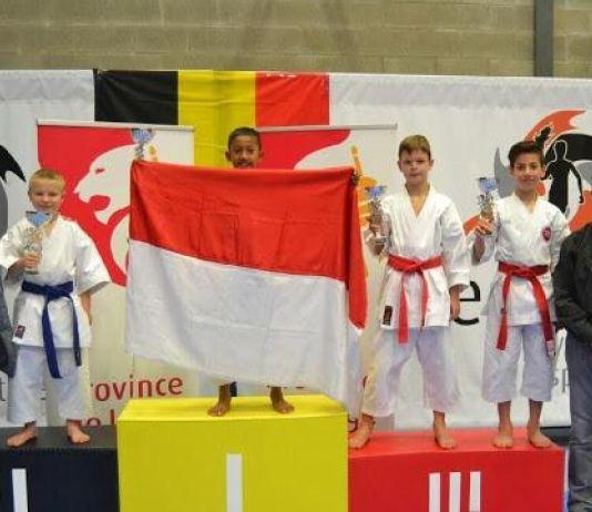 Buffon Cilik Ukir Prestasi Juara Karate di Belgia