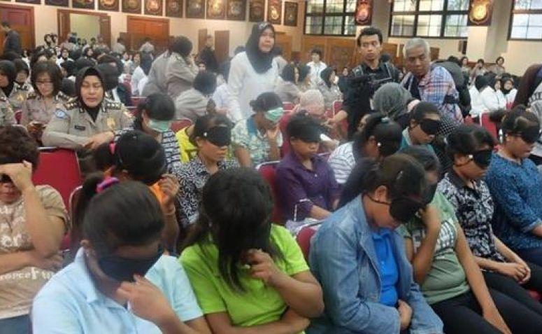 PELAKU PERDAGANGAN ORANG INDONESIA KE CHINA BERHASIL DI