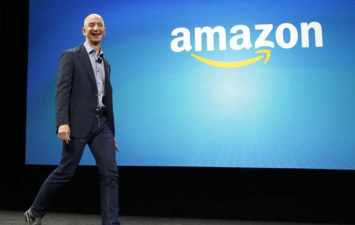 Amazon CEO Jeff Bezos now worth $100 bn