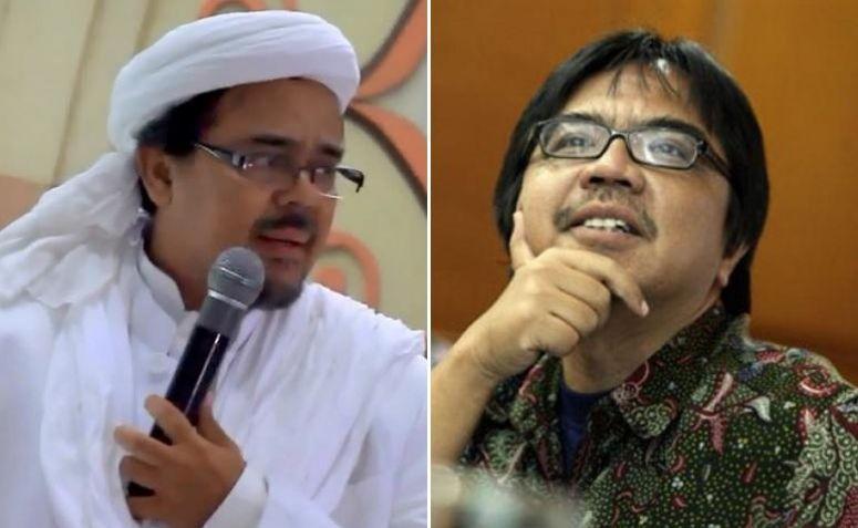 Habib Rizieq Shihab dan Ade Armando (tarbiyah)