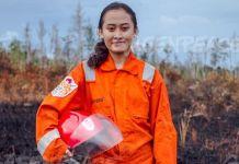 Jane Yolanda, Relawan yang Berkontribusi Cegah Kebakaran Hutan