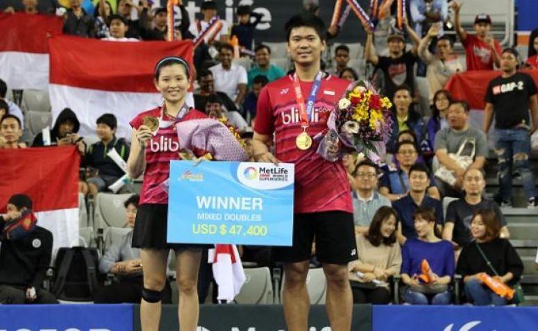 Jelang Bercerai, Praveen/Debby Ingin Nikmati Duel di Super Series Final