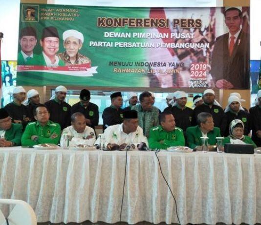 Pemuda Persatuan Ultimatum Kubu Romy 2x24 Jam untuk Angkat Kaki dari Kantor DPP PPP
