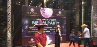 Neon Party, Perayaan Tahun Baru di Grand Mercure Kemayoran Jakarta