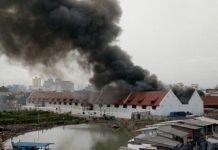 Koleksi Peninggalan Bersejarah di Museum Bahari Hangus Terbakar