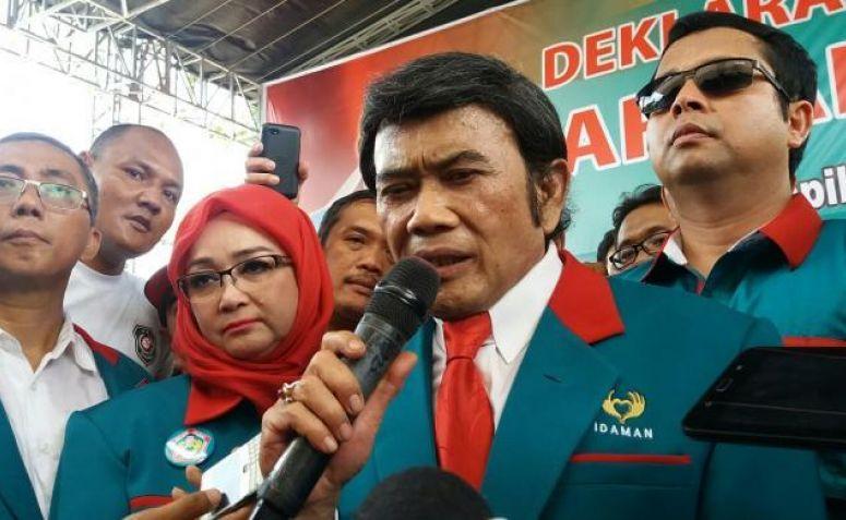 Gagal Ikut Pemilu, Rhoma Irama Akan Gugat KPU dan Bawaslu