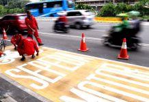 Polisi: Arus Lalu Lintas di Jalan MH Thamrin Kini Padat