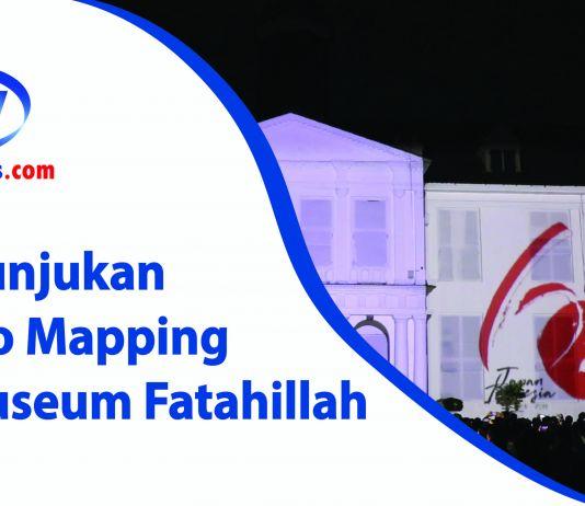 Pertunjukan Video Mapping di Museum Fatahillah